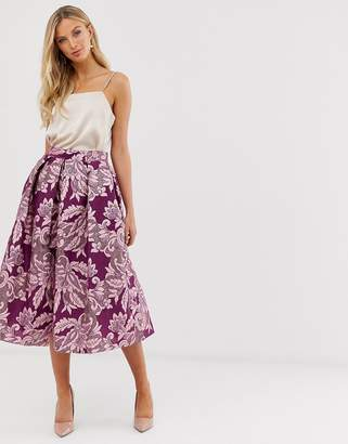 Closet London Closet full a line midi skirt
