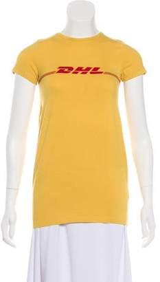 Vetements 2016 DHL T-Shirt
