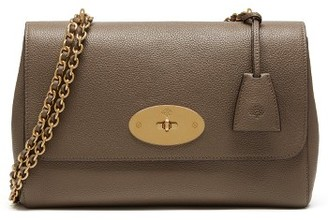 Mulberry Medium Lily Convertible Leather Crossbody Clutch - Grey $1,275 thestylecure.com