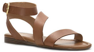 Franco Sarto Gustar Leather Flat Sandals