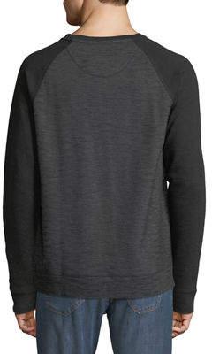 DKNY Men's Long-Sleeve Baseball T-Shirt