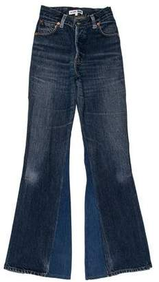 RE/DONE High-Rise Flared Jeans w/ Tags