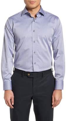 Lorenzo Uomo Pin Dot Dress Shirt