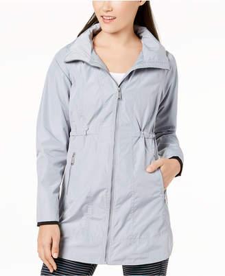 Calvin Klein Long-Line Hooded Jacket