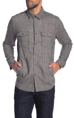 Jeremiah Canvas Shirt Jacket