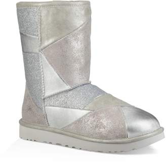 UGG Classic Glitter Patchwork Bootie