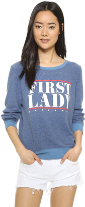 Wildfox First Lady Sweatshirt $98 thestylecure.com