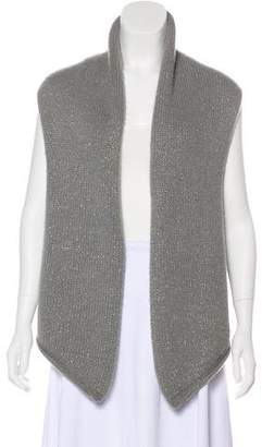 Barneys New York Barney's New York Cashmere Sleeveless Cardigan