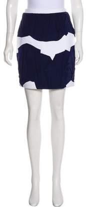 Chanel Gathered Mini Skirt