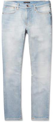Nudie Jeans Lean Dean Skinny-Fit Tapered Organic Stretch-Denim Jeans