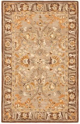 Safavieh Anatolia Suzanne Framed Floral Wool Rug