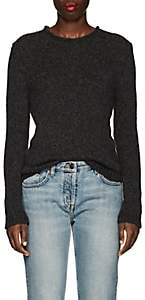 The Row Women's Droi Brushed Cashmere-Blend Sweater - Dark Grey