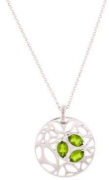 Di Modolo Crystal Ricamo Pendant Necklace