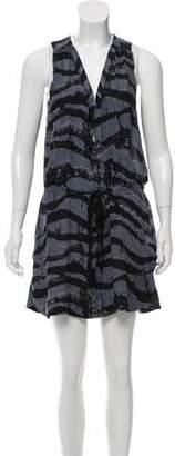 A.L.C. Sleeveless Printed Dress