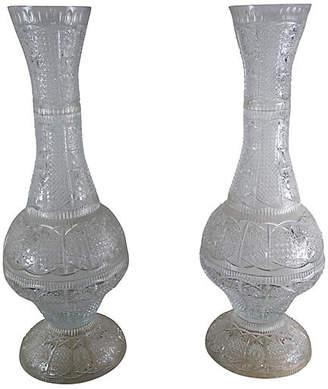 Cut Glass Vase Shopstyle