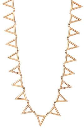 Eva Fehren Women's Apex Chainsaw Necklace - Rose Gold
