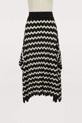 Stella McCartney Wool midi skirt
