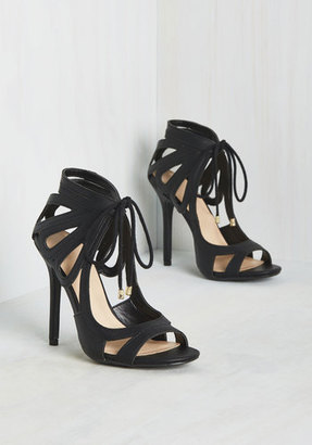 Legend Footwear Inc My Loops are Sealed Heel in Black $49.99 thestylecure.com