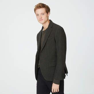 Club Monaco Grant Wool Herringbone Blazer