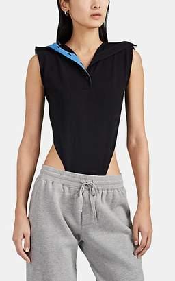 Y/Project Women's Cotton Piqué Polo Bodysuit - Black
