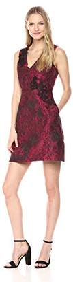 Jax Women's Floral Jacquard Tulip Skirt fit n Flare