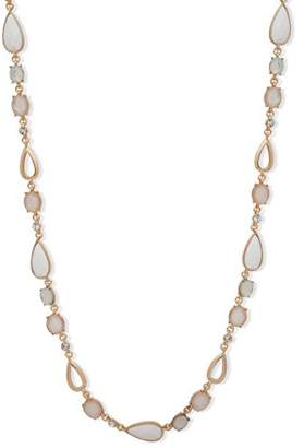 Anne Klein Women's Gold Tone and 42-Inch Strand Necklace