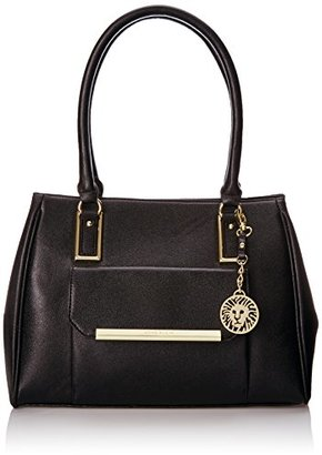 Anne Klein Shimmer Down Large Satchel $89 thestylecure.com