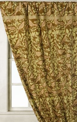 Bird Reference Curtain