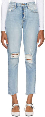 Frame Blue Rigid Re-Release Le Original Jeans