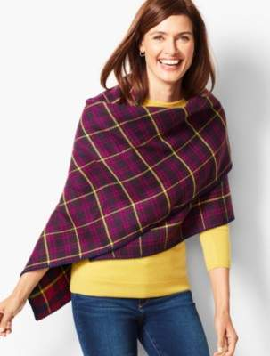 Talbots Double-Face Triangle Wrap