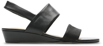 a54c68b316af Clarks Black Leather Sole Sandals For Women - ShopStyle UK