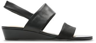 a54c68b316af Clarks Black Leather Sole Sandals For Women - ShopStyle UK