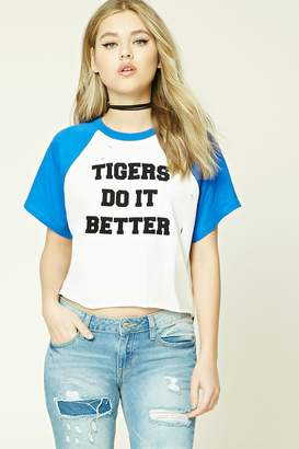 Forever 21 Tigers Do It Better Tee