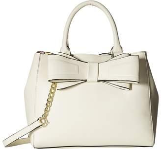 Betsey Johnson Bow Satchel Satchel Handbags