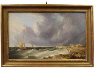 One Kings Lane Vintage Off the Coast by W.H. Williamson Art