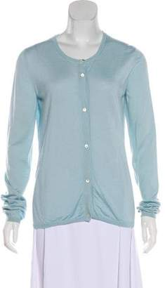 Miu Miu Lightweight Button-Up Cardigan