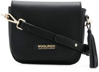 Woolrich ethnic motif shoulder bag