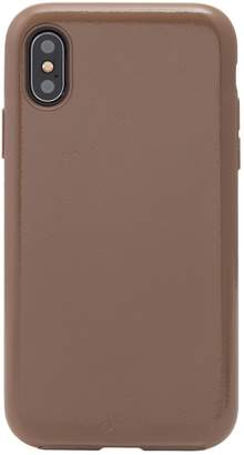 Sonix Black Patent Faux Leather iPhone X/Xs Case