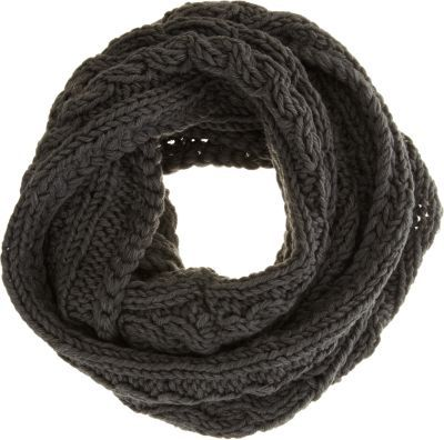 Hat Attack Fisherman's Knit Eternity Scarf