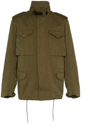 Ten C Field pocketed jacket