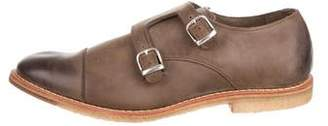 Allen Edmonds Double Monk Strap Shoes