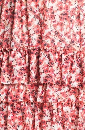 Mcginn 'Annie' Tiered Floral Print Dress