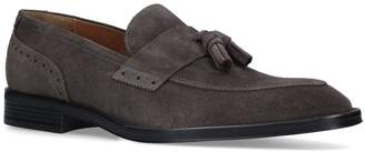 Kurt Geiger London Suede Poplar Tassel Loafers