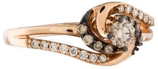 Le Vian 14K Diamond Twist Ring $595 thestylecure.com