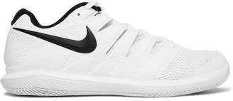 Nike Tennis - Air Zoom Vapor X HC Rubber and Mesh Tennis Sneakers