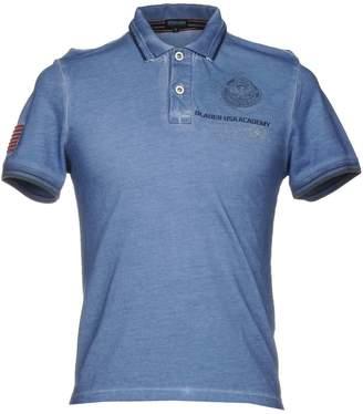 Blauer Polo shirts