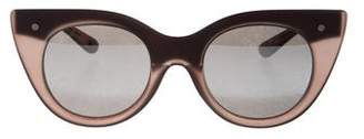 Le Specs Nefertiti Cat-Eye Sunglasses