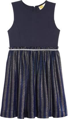 Boden Mini Sparkle Stripe Party Dress
