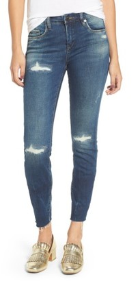 Women's Blanknyc High Dive Ripped Skinny Jeans