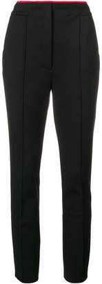 Schumacher Dorothee high-waisted slim trousers